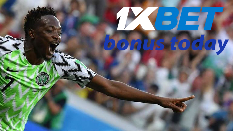 What is 1xBet bonus today