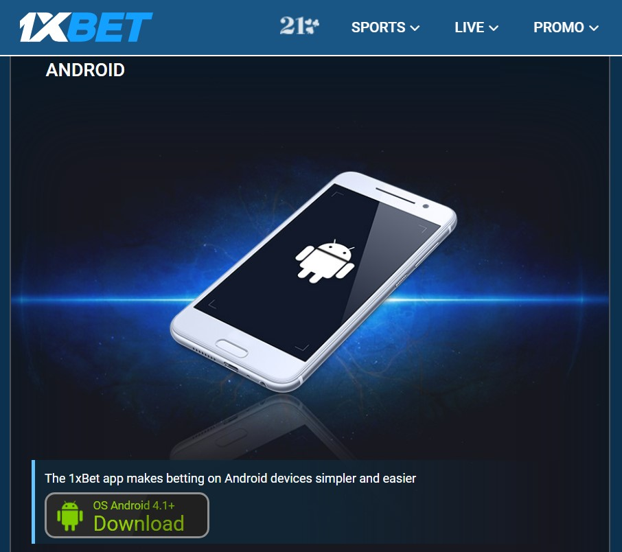 1xBet Android app review